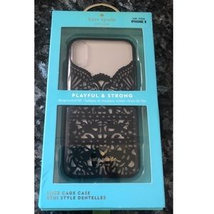 🍁NEW🍁Lace Kate Spade IPhone X Phone Case